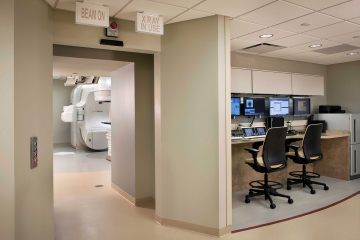 Radiation Oncology Control Area