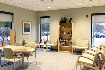 Radiation Oncology Waiting Room