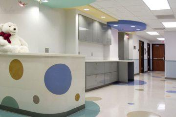 Central DuPage Hospital. Pediatric Suite Remodeling