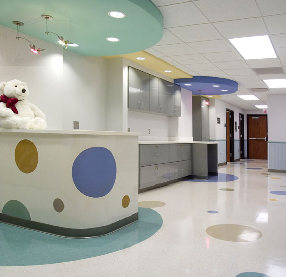 Central DuPage Hospital. Pediatric Suite Remodeling
