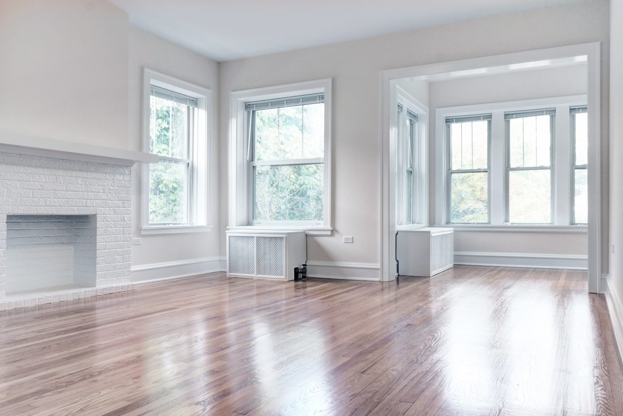 Student residence living room