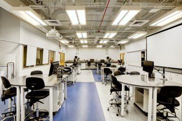 NU teaching Lab Photo